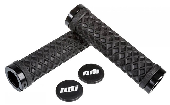 GRIPS ODI VANS 130MM NOIR/LOCK ON NOIR