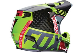 CASQUE FOX HEAD RAMPAGE PRO CARBON DIVISION 2016