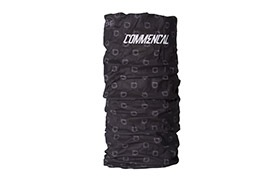 TOUR DE COU MICROFIBRE COMMENCAL BUFF BLACK