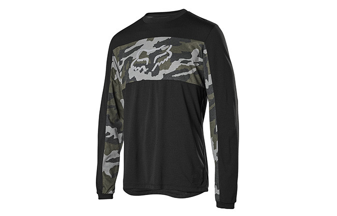 MAILLOT MANCHES LONGUES FOX RANGER DR GREEN CAMO 2019