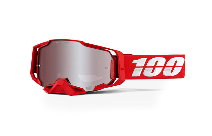 MASQUE 100% ARMEGA FALCON 5 - HiPER RED MIRROR LENS 2020