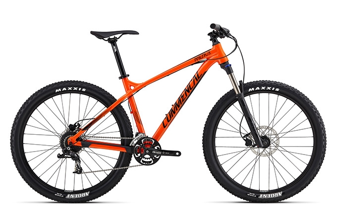 META HT TRAIL RIDE 650B ORANGE 2017