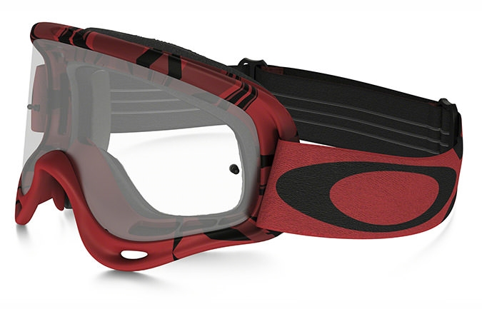 MASQUE OAKLEY O FRAME MX INTIMIDATOR ROUGE/NOIR CLEAR LENS