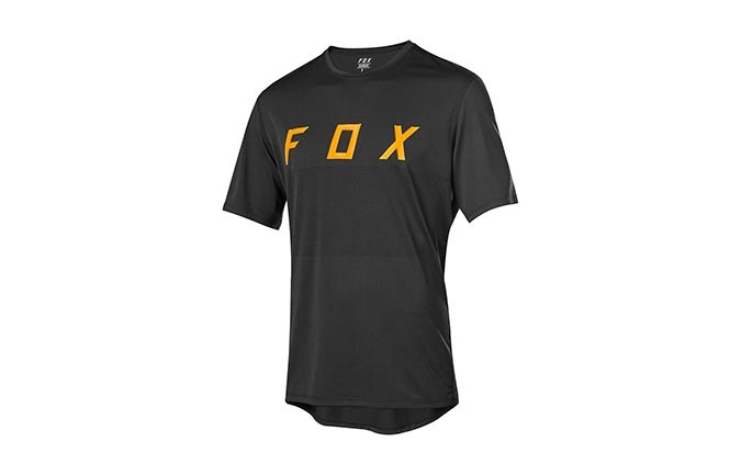 MAILLOT MANCHES COURTES FOX RANGER BLACK 2019