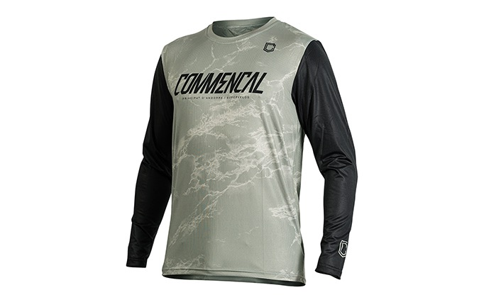 MAILLOT MANCHES LONGUES COMMENCAL HERITAGE GREEN 2020