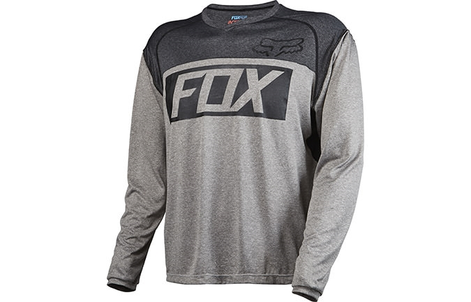 MAILLOT MANCHES LONGUES FOX HEAD INDICATOR GRIS 2016