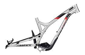 CADRE SUPREME DH V4.2 650B BRUSHED RED 2018