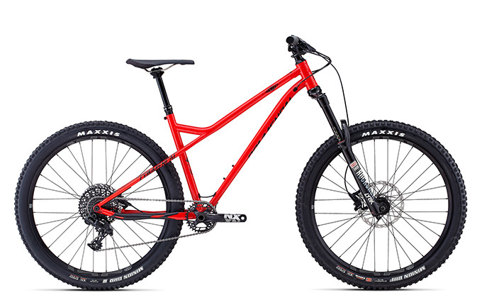 META HT AM CRMO 650B SHINY RED 2018