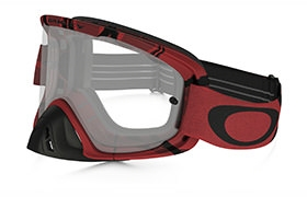 MASQUE OAKLEY O FRAME 2.0 MX INTIMIDATOR BLOOD RED CLEAR LENS