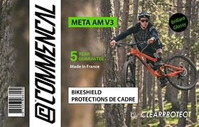 KIT CLEARPROTECT CUSTOM POUR META V3 BRILLANT