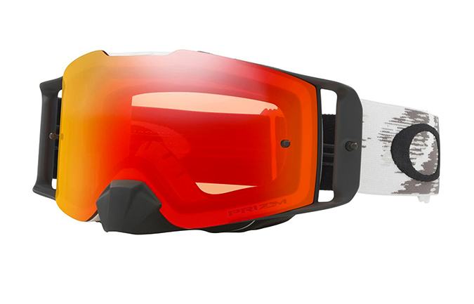 MASQUE OAKLEY FRONT LINE MX SPEED BLANC MAT PRIZM TORCHIRD