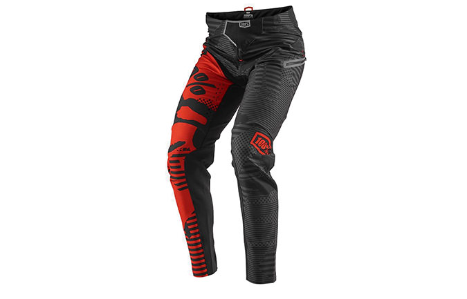 PANTALON 100% R-CORE-X DH BLACK CAMO 2018