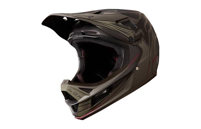 CASQUE FOX RAMPAGE PRO CARBON KUSTM 2018