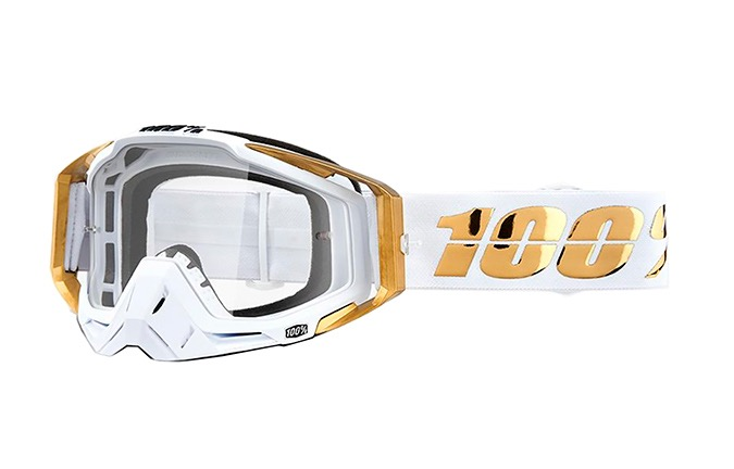 MASQUE 100% RACECRAFT LTD - CLEAR LENS 2019