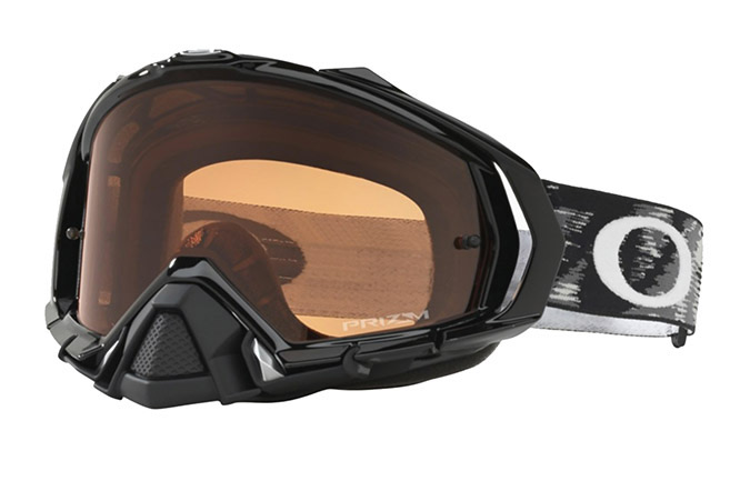 MASQUE OAKLEY MAYHEM PRO JET BLACK - PRIZM MX BRONZE LENS