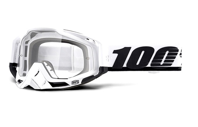 MASQUE 100% RACECRAFT STUU - CLEAR LENS 2020