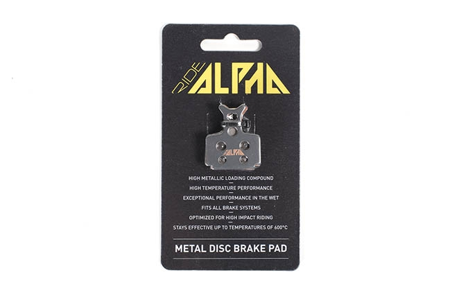 PLAQUETTES METALLIQUES RIDE ALPHA FORMULA THE ONE/R1/MEGA/RX