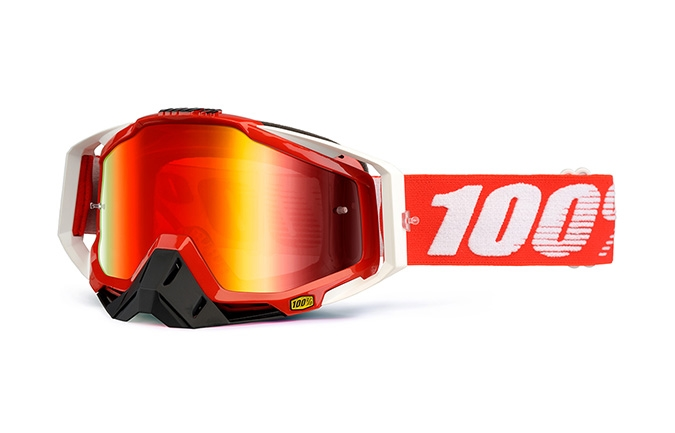 MASQUE 100% RACECRAFT FIRE RED