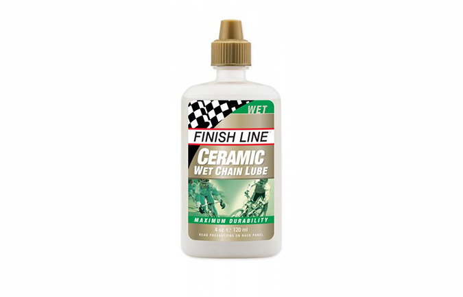 HUILE DE CHAINE FINISH LINE CERAMIC WET LUBE 120ML