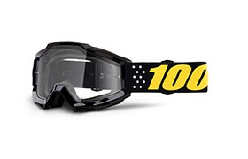 MASQUE 100% KID ACCURI PISTOL  - CLEAR LENS 2019