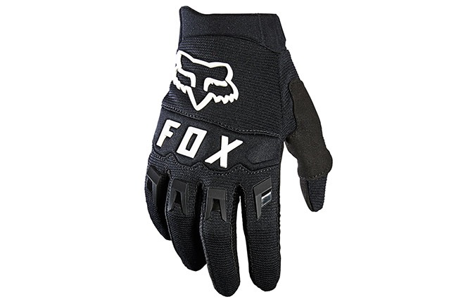 GANTS FOX KIDS DIRTPAW BLACK/WHITE