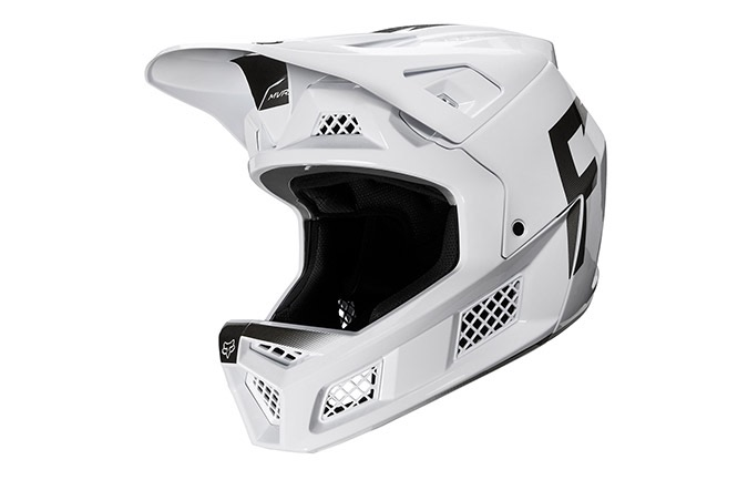 CASQUE FOX RAMPAGE  PRO CARBON WURD WHITE