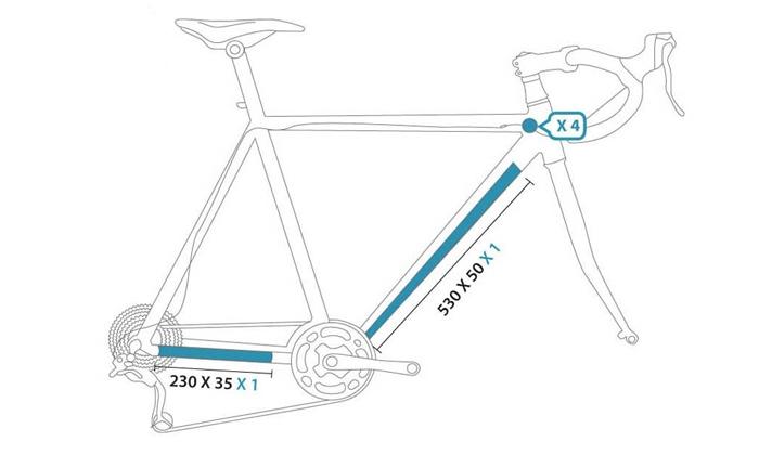 NEWZCERS Nouveau style cr/âne imprim/é cyclisme /équitation shorts sous-v/êtements 3D silicone pad v/élo shorts pour les femmes