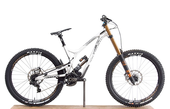 SUPREME DH V4.2 FOX 650B NEW ZELAND BRUSHED EDITION ALC 2017 (M)