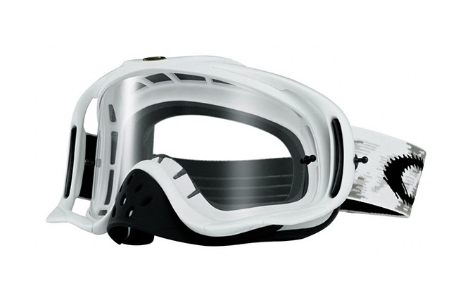MASQUE OAKLEY CROWBAR BLANC MAT/CLEAR LENS
