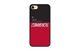 COQUE COMMENCAL IPHONE 7 - 8 RED 2019