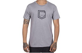 T-SHIRT COMMENCAL SHIELD HEATHER GREY