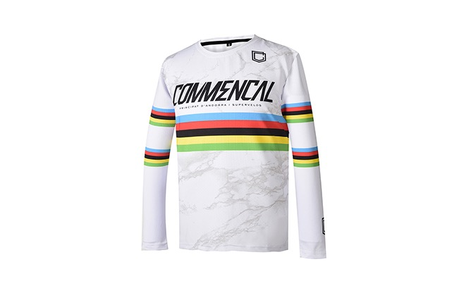 MAILLOT KID COMMENCAL POMPON 2020