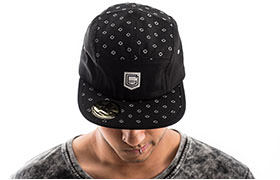 CASQUETTE FIVE PANEL COMMENCAL 2018