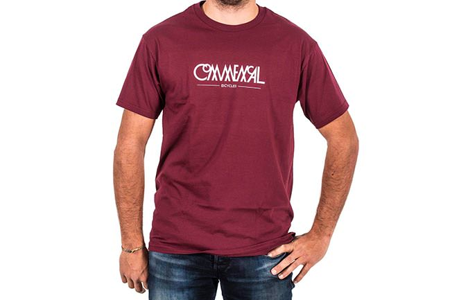 T-SHIRT BUBBLE MAROON 2018