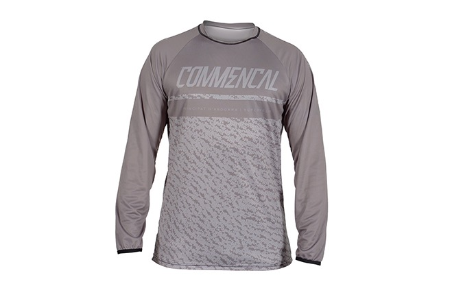 MAILLOT MANCHES LONGUES COMMENCAL GREY
