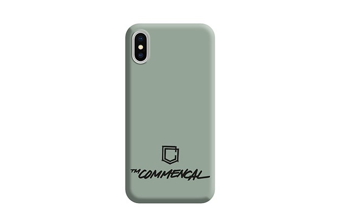 COQUE COMMENCAL IPHONE X/XS HERITAGE GREEN