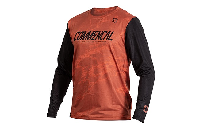 MAILLOT MANCHES LONGUES COMMENCAL OCHRE 2020