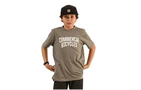 T-SHIRT COMMENCAL KID GREY 2020