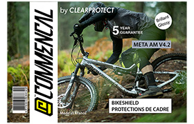 KIT CLEARPROTECT CUSTOM POUR META V4.2 BRILLANT