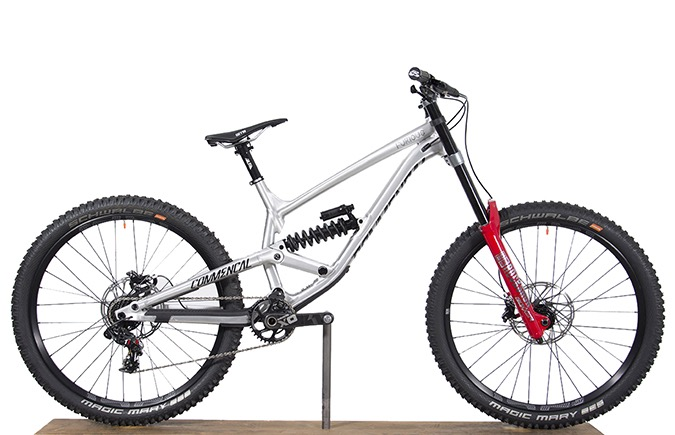 FURIOUS 650B BRUSHED ALC 2018 (XL)
