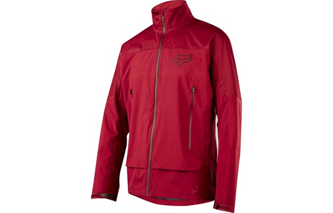 VESTE DE PLUIE FOX ATTACK WATER DARK RED