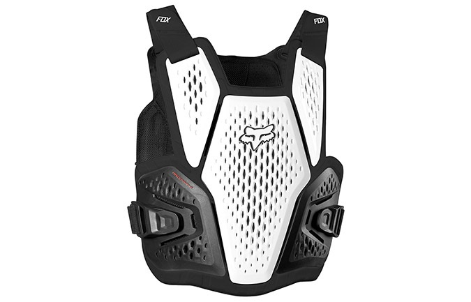 GILET DE PROTECTION FOX RACEFRAME IMPACT SB WHITE
