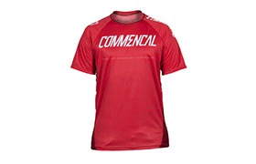 MAILLOT MANCHES COURTES COMMENCAL RED