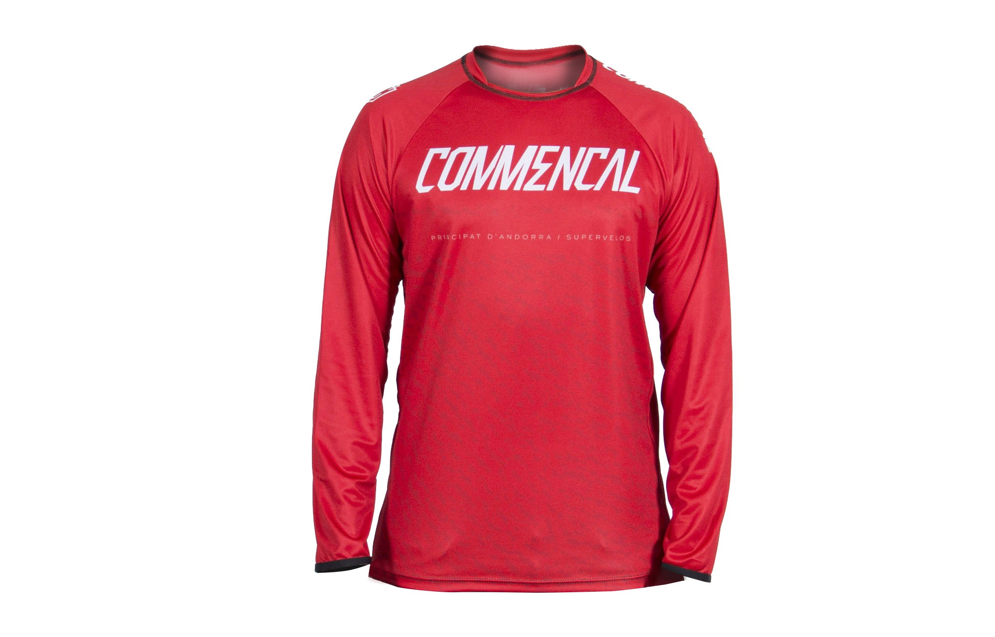 new lifestyle buy cheap designer fashion MAILLOT MANCHES LONGUES COMMENCAL RED 2019