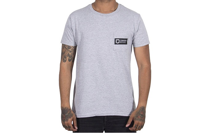 T-SHIRT COMMENCAL BOX HEATHER GREY