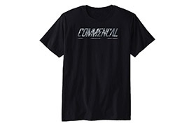 T-SHIRT COMMENCAL CORPORATE BLACK
