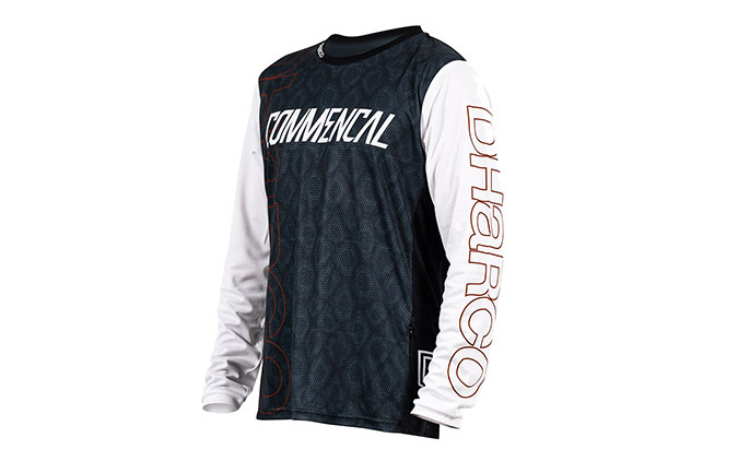 MAILLOT MANCHES LONGUES COMMENCAL/ DHARCO EDITION  RAMPAGE