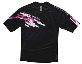 MAILLOT MANCHES COURTES ENDURO ROSE 2015