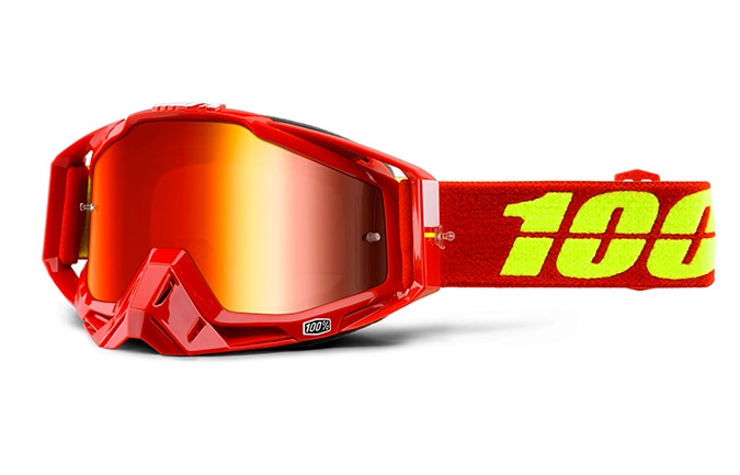 MASQUE 100% RACECRAFT CORVETTE MIRROR RED LENS