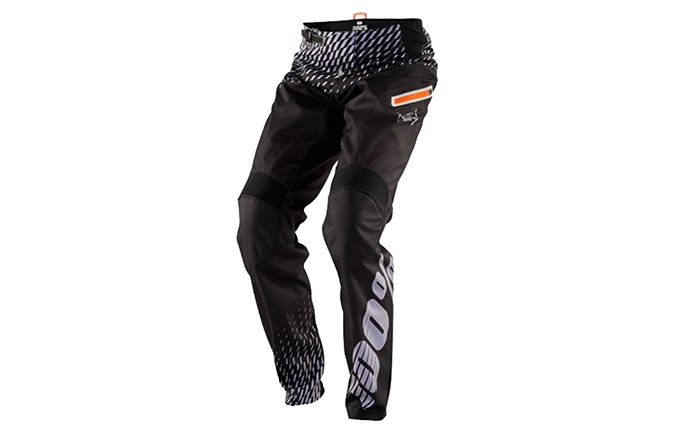 PANTALON 100% KID R-CORE SUPRA DH BLACK/GREY 2018